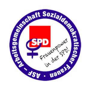 Logo ASF Arbeitsgemeinschaft Sozialdemokratischer Frauen